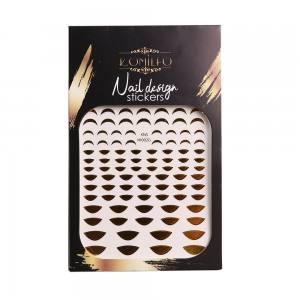 Наклейка Komilfo Nail Design Sticker №KNS-002G