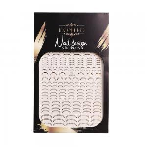 Наклейка Komilfo Nail Design Sticker №KNS-005G