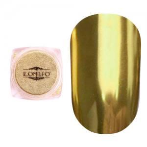 Втирка металлик Komilfo Mirror Powder №003, сусальное золото, 0,5 г