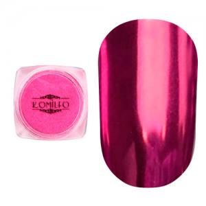 Втирка металлик Komilfo Mirror Powder №007, розовый, 0,5 г