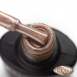 Гель-лак Komilfo Holographic 003 (золотистый), 8 мл