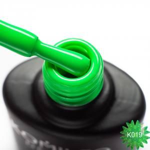 Гель-лак Komilfo Kaleidoscopic Collection K019 (сочный зеленый, неоновый), 8 мл