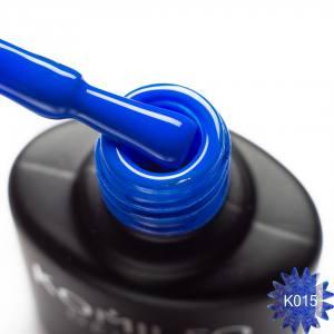 Гель-лак Komilfo Kaleidoscopic Collection K015 (синий, неоновый), 8 мл