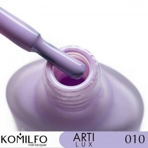 Лак для ногтей Komilfo ArtiLux 010 лиловый, эмаль 8 мл