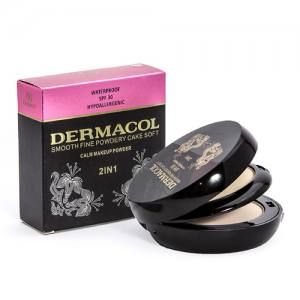 Пудра Dermacol smooth fine powdery cake soft