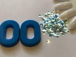 Декор для дизайна в баночке Brilliant Crystal №00
