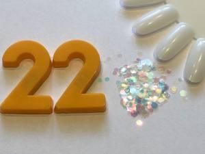 Декор для дизайна в баночке Brilliant Crystal №22