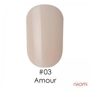 Гель-лак Naomi №3 (прозрачно-розовый, основа для френча), 6 мл