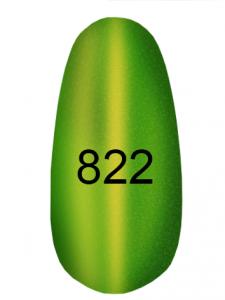 Гель-лак Kodi 8мл кошачий глаз 822 травяной