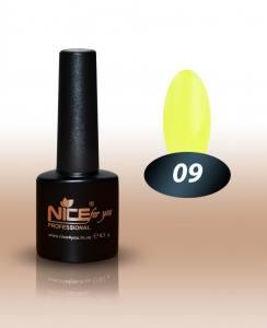 Гель-лак Nice 8.5мл №009 лимонный