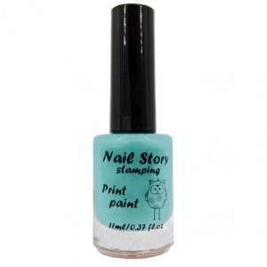 Лак для стемпинга Nail story №22 тиффани 11мл