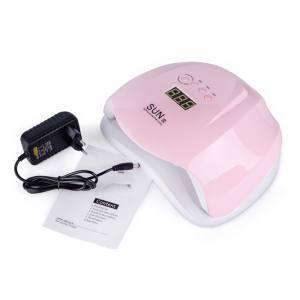 УФ LED лампа светодиодная Sun X 54 Вт Пастельная розовая