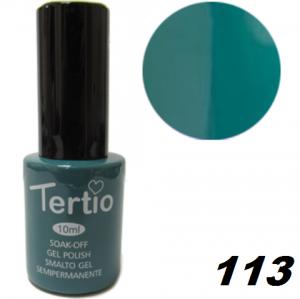 Гель-лак Tertio №113 зелено-морской 10мл