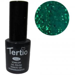 Гель-лак Tertio Зеленый с блестками №178 10 мл