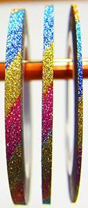 Сахарная лента для дизайна  разноцветная