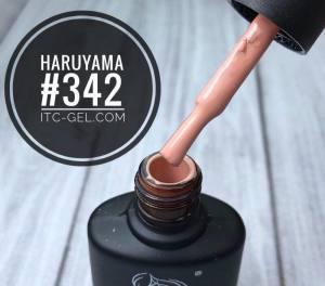 Гель-лак Haruyama Классика №342, бежевый, 8 мл