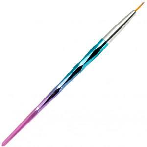 Кисть Liner 10мм с ручкой хамелеон