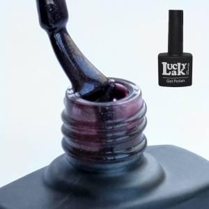Гель-лак Lacky Lak 10мл 090 сливовый микроблеск