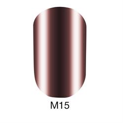 ГЕЛЬ-ЛАК NAOMI METALLIC COLLECTION, 6 МЛ №15
