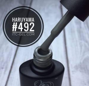 Гель-лак Haruyama Классика №492, серо-зеленый, 8 мл