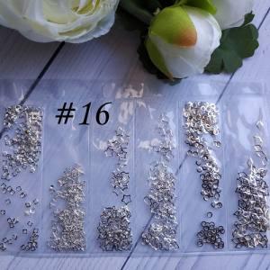 Металлический декор для ногтей в упаковке Barbie Nails №16
