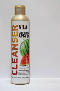 Жидкость для снятия липкого слоя  Nila 250мл арбуз