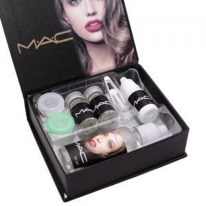 Цветные линзы косметические Mac sensual beauty lens (Gemstone Green)