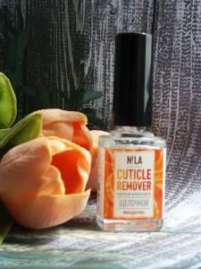 Nila Cuticle Remover  средство для удаления кутикулы мандарин 12мл