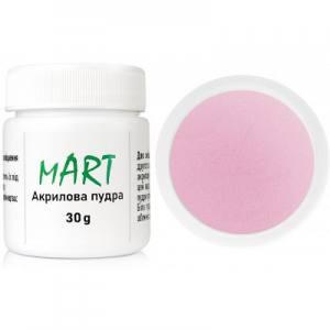 Акриловая пудра mART 07 розовая камуфлирующая 30г