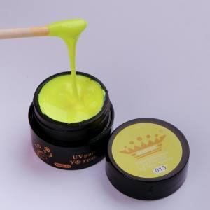 Гель-краска Master №13 желтая