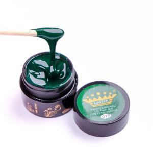 Гель-краска Master №18 зеленая