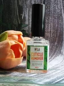 Nila Cuticle Remover  средство для удаления кутикулы мята 12мл