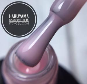 HARUYAMA Гель-лак камуфляж № 06, 8 мл светлый розово-сиреневый
