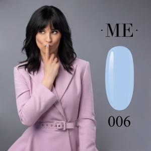 Гель-лак F.O.X Masha Efrosinina №006 (голубой, эмаль), 7 мл