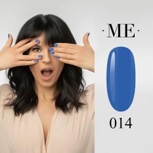 Гель-лак F.O.X Masha Efrosinina №014 (синий, эмаль), 7 мл