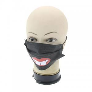 Защитная маска для лица черная Global 12