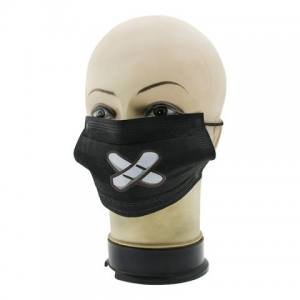 Защитная маска для лица черная Global 02