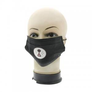 Защитная маска для лица черная Global 05