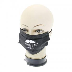 Защитная маска для лица черная Global 06