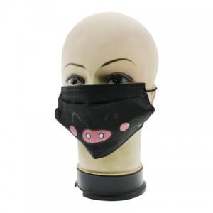 Защитная маска для лица черная Global 07