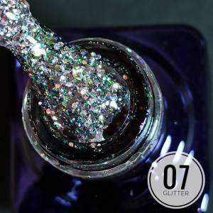 Гель-лак Mett Glitter 7мл 07