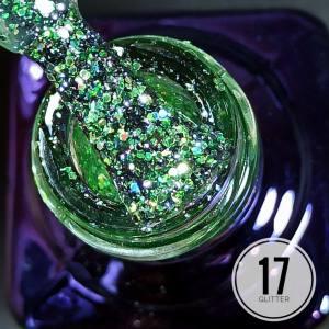 Гель-лак Mett Glitter 7мл 17