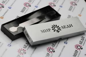 Металлическая основа прямой формы для сменного абразива из нержавеющей стали