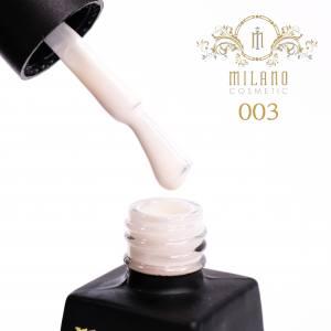 Гель-лак Milano 12мл Milk коллекция №3