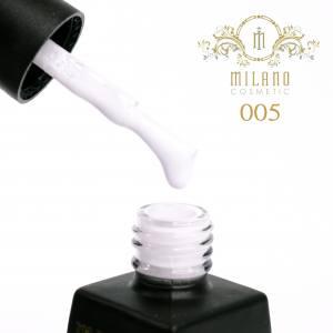 Гель-лак Milano 12мл Milk коллекция №5