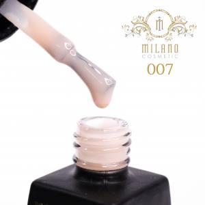 Гель-лак Milano  Milk коллекция №7