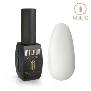 Гель-лак Milano  Milk коллекция №2