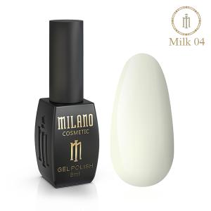 Гель-лак Milano  Milk коллекция №4