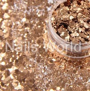 Микс  бриллиант баночка 2.5г 018