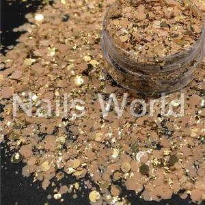Микс  бриллиант баночка 2.5г 035